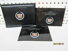 2002 Cadillac Escalade Owners Manual Set  FREE SHIPPING