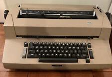 Ibm Self Correcting Selectric Ii Electric Typewriter Beige Works See Description