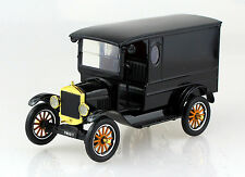Ford Model T Paddy Wagon schwarz 1:24 Motor Max Premium Modellauto 79316