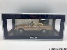 Mercedes-benz 300 sl 1986 + SoftTop-byzanzgold metallic - 1:18 norev 183514