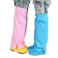 Children Waterproof Rain Pants Raincoat Boys Girls Students Rain Pants Sets