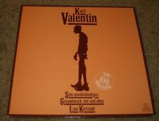 Sein Unvollstandiges Karl Valentin~RARE 1980 3 LP German Import Comedy~NM Vinyl