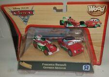 Disney Pixar Cars 2 Wood Collection 2011 Toy R Us francesco Giuseppe Rare Set