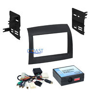 Car Radio Stereo Double Din Dash Kit JBL Wire Interface for 04-10 Toyota Sienna