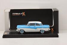 Ford taunus 17m 1957 blue/white premium x 1/43 new in box
