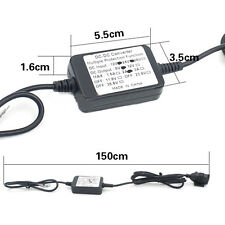 12V 2A Dual USB Power Port Charger for Smartphone iPhone Android GPS Motorcycle