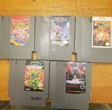 NES Beat Em Up, Sports, Bible game and Tengen game Lot