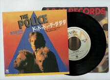 """THE POLICE 7"""" Japan DE DO DO DO DE DA DA DA"""