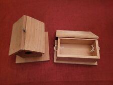 "5"" Bird House and Small Storage Box"