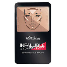 L'Oreal Paris Infallible Pro-Contour Contour & Highlight Palette, Medium 814