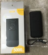 5000mAh TV ® Universale Batteria Esterna USB Power Bank Caricatore Nero