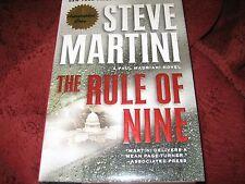 Paul Madriani Ser.: The Rule of Nine Bk. 11 by Steve Martini (2010, HD)SIGNED