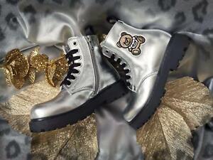 Moschino Boots Schuhe Teddy Größe 27, 28,29, 30, 31,32, 33, 34, 35 NEU Wi 21/22