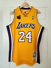100% Authentic Mitchell and Ness Kobe Bryant Los Angeles Lakers 2009-10 Jersey