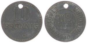 Waldurn, 10 Pfennig ss-vz 63646