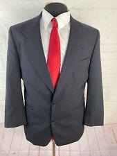 Brandini Men's Navy Blue Stripe Suit 40S 31X27 $595