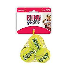 KONG AirDog Squeakair Balls Small 3 Pack Dog Toy Puppy Ball Squeaky