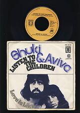 Shuki & Aviva - Listen To the Children - Love is  - 7 Inch Vinyl Single -HOLLAND