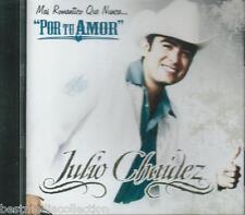 Julio Chaidez CD NEW Por Tu Amor ALBUM Con 10 Canciones SEALED