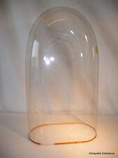Globe de mariée en verre (ou pendule) H 50  cm