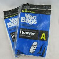Type A 6 Vacuum Bags New Sealed 2 Packages 3 Each Home Care Hoover Bissell