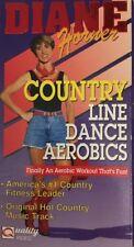 Diane Horner Country Line Dance Aerobics VHS-TESTED-RARE VINTAGE-SHIPS N 24 HOUR