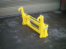 JCB Qfit to lift Euro 8 Quicke interchanger adapter plate headstock teleporter