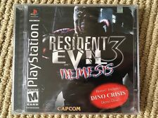 Resident Evil 3: Nemesis - PS1 - Brand New - Factory Sealed - Black Label !!