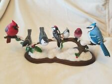 Winter's Gathering Birds Danbury Mint by Bob Guge