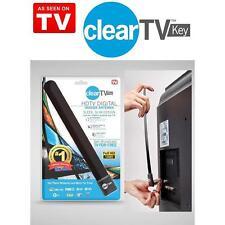 Popular Clear TV Key HDTV FREE Digital Signal Receiver Antenna As Seen on TV Lot