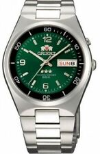 Orient Tri Star Automatic FEM6H00QF9 Green Dial Stainless Steel Men's Watch