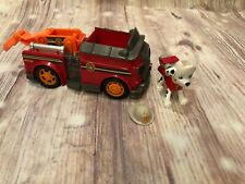 Paw Patrol Rescue Vehicle Truck Pup Marshall Mission Paw Figure Set Spin Master