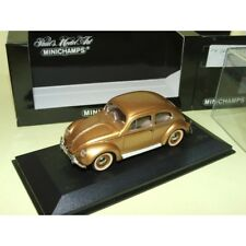 VW COCCINELLE 1200 Gold MINICHAMPS 1:43