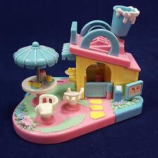 Vintage Mimi & The Goo Goos Drive N Eat Bluebird Toys Playset 1994 Polly Pocket