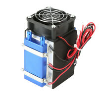 DC12V 4 Chip Semiconductor Refrigeration Machine Cooler DIY Radiator Air Cooling