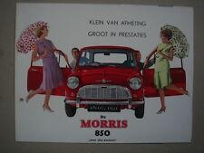 MORRIS   850   brochure / Prospekt  ca.1963.