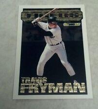 TRAVIS FRYMAN 1994 TOPPS BLACK GOLD INSERT CARD # 6 A0151