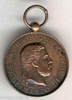España Medalla Calos VII Toma de Berga 1873 @ EXCELENTE @