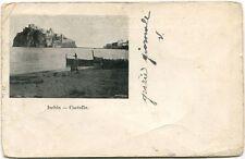 Primi '900 Ischia Veduta Castello Barche Mare Cremona FP B/N VG ANIM