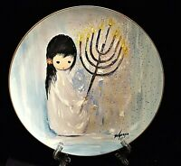 FESTIVAL OF LIGHTS COLLECTORS PLATE by Ted DeGrazia + Free Gift + Free Shipping