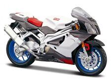 Maisto 1:18 - Motorbike - Aprilia 2006 RSV 1000R - White