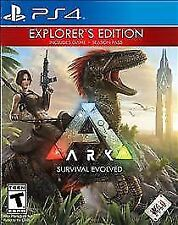 Ps4 Ark survival evolved explorers edition and 2 pre-order dino skins codes