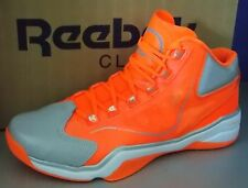 2958bfe8014d MENS REEBOK Q96 CROSSEXAMINE in colors NEON SIGN   WHITE   SILVER SIZE 8