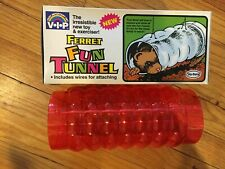 "VoToys Hard Plastic Ferret Fun Tunnel Play Pipe tube 9"" small animal hide away"