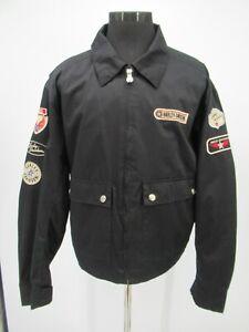 P5310 VTG Men's Harley Davidson Patched Jacket Size XL