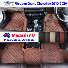 AU Made 3D Customised  Floor Mats Multi-Colours for Jeep Grand Cherokee 10-20