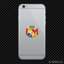 Tongan Coat of Arms Cell Phone Sticker Mobile Tonga flag TON TO