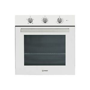 Indesit Aria Electric Fan Assisted Single Oven - White