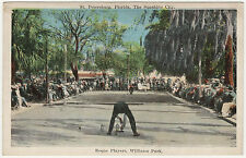 Postcard, Roque Players, St. Petersburg, Florida
