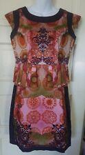 NWT ANTHROPOLOGIE ASHIH N SONI PINK/ROSE DRESS SZ SMALL
